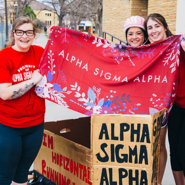 student members of ALPHA SIGMA ALPHA