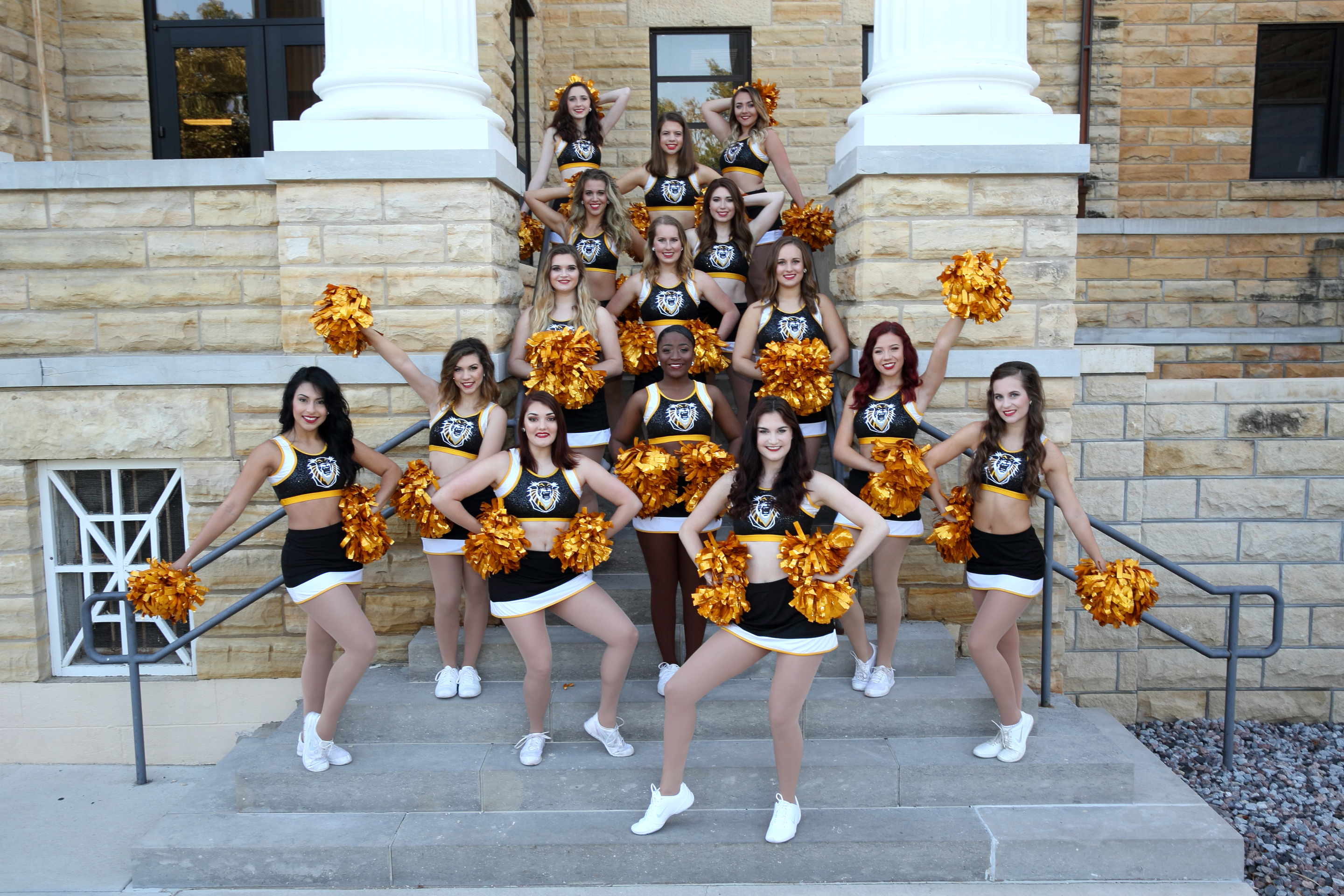 Team Photo 2017-2018 (Picken Stairs)
