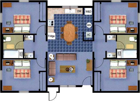 Sp Four Bedroom
