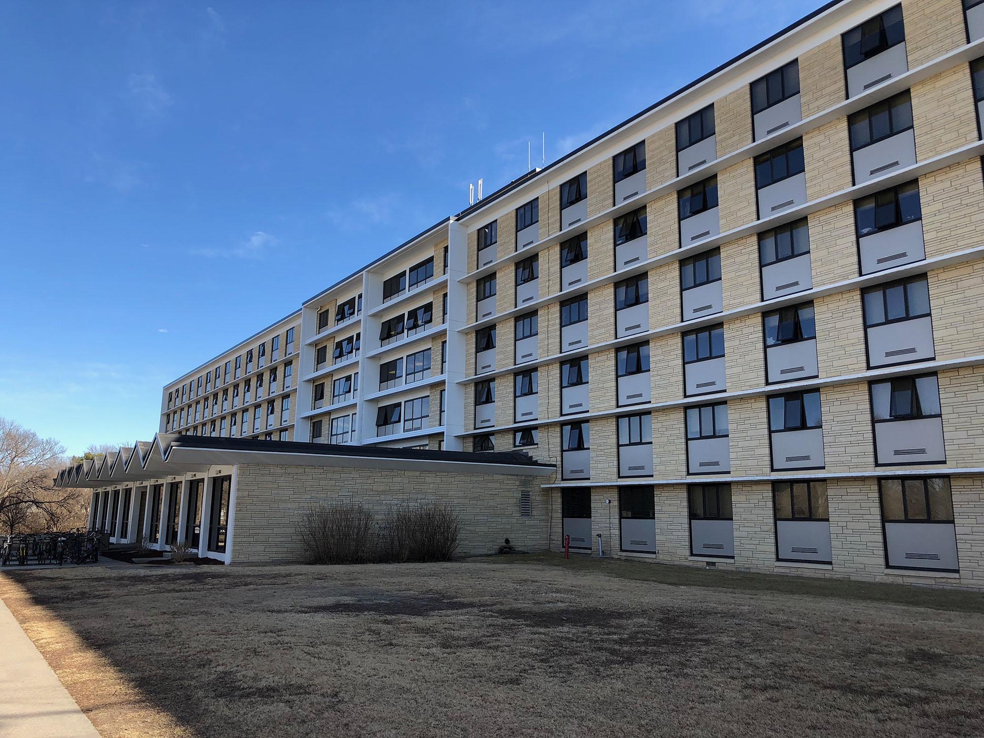 Fhsu Mcmindes Hall Fort Hays State University
